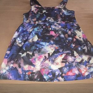 Cute galaxy print mini